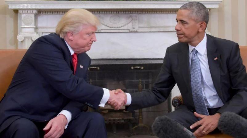 Trump- Obama