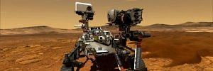 Mars Perseverance rover and Ingenuity helicopter bots