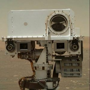 Mars Perseverance rover and Ingenuity helicopter bots on mars mission sends first selfie 4