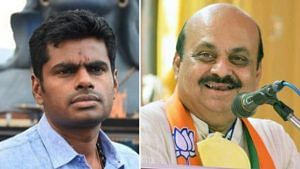 CM basavaraj bommai on ex ips officer k annamalai opposing mekedatu project
