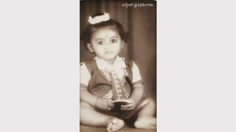 ಜಗ್ಗೇಶ್ ಅವರು ಹತ್ತು ತಿಂಗಳ ಮಗುವಿದ್ದಾಗ(1964)