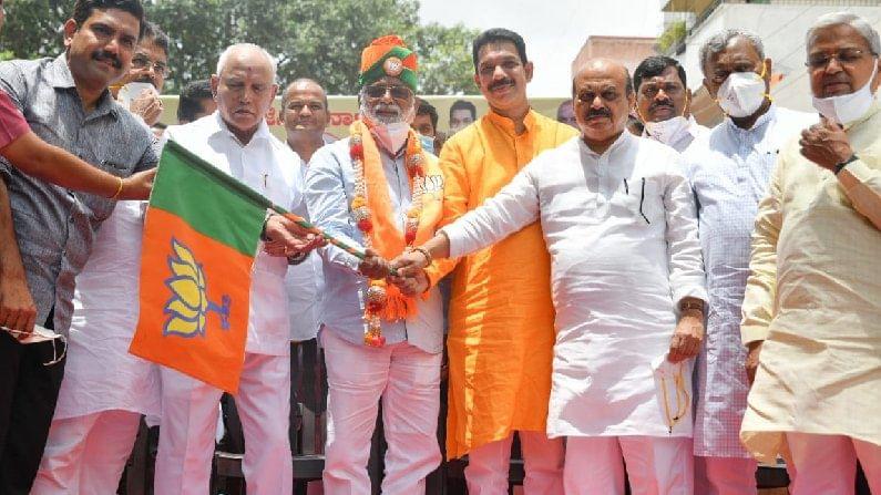MLA N Mahesh Joined BJP