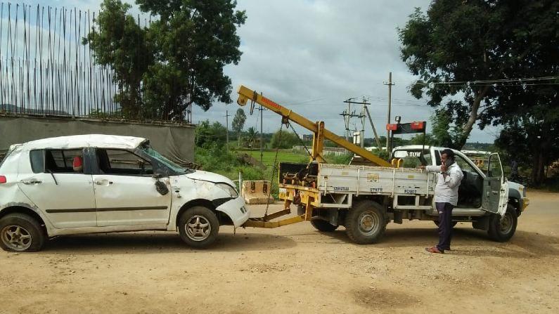 mandya car accident