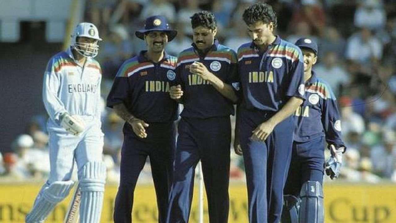 1992ರ ಏಕದಿನ ವಿಶ್ವಕಪ್ ಟೂರ್ನಿಯಲ್ಲಿನ ಭಾರತದ ಜೆರ್ಸಿ