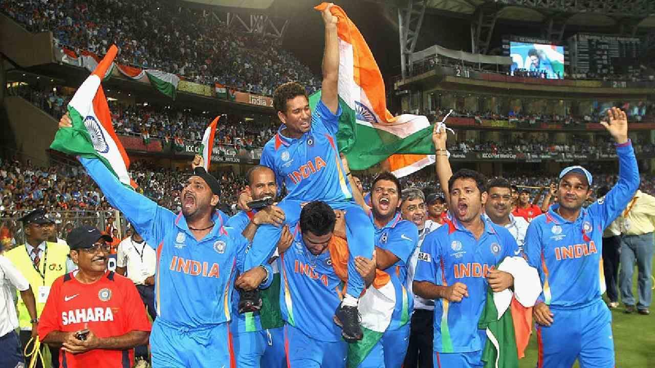 2011ರ ಏಕದಿನ ವಿಶ್ವಕಪ್ ಜೆರ್ಸಿ