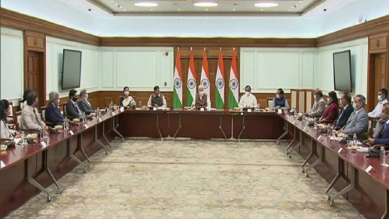 PM Narendra Modi Interacts with 7 Indian COVID Vaccine ceo