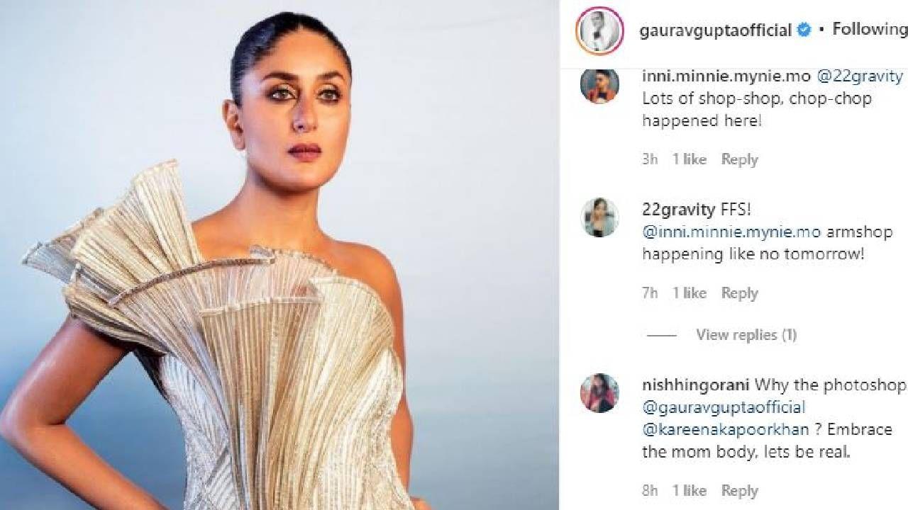 Kareena Kapoor new look criticism